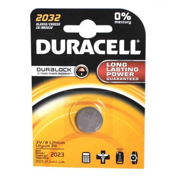 Батарейка DURACELL CR2032 BP1 3В