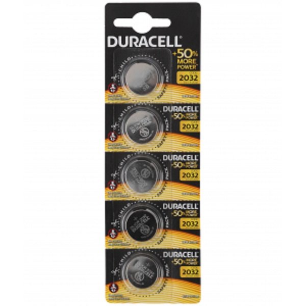 Батарейка DURACELL CR2032 BP5x1 (35495)