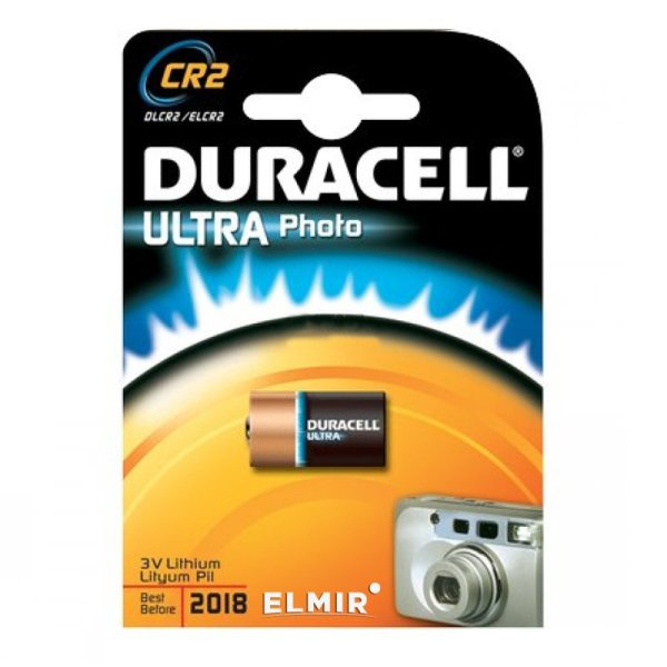 Батарейка DURACELL CR-2 BP1 3В (1378)