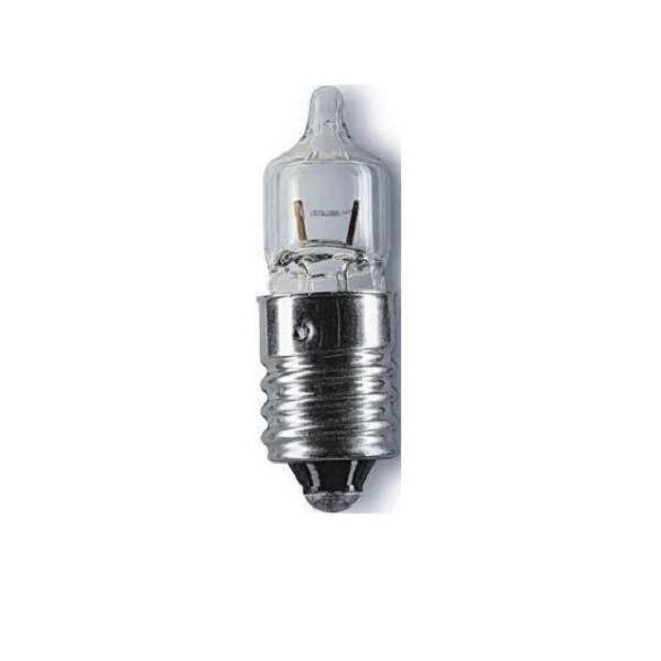 Лампа для фонаря MacTronic Halogen 4,8В 0,85А резьба Е10
